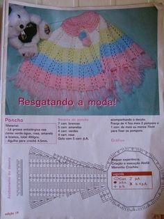 RECEITA DE CROCHÊ INFANTIL
