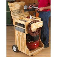 Compressed Air Work Station Downloadable Plan