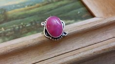 Check out this item in my Etsy shop https://www.etsy.com/listing/253119309/cherry-ruby-statement-925-sterling