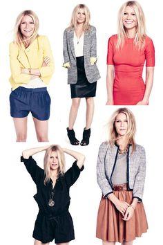 Gwyneth Paltrow...Style, love those blue shorts