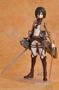 Mikasa from Attack on Titan / Shingeki no Kyojin || anime figure