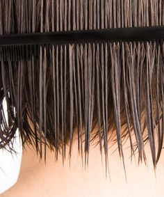 """How to Ask for What You Want  Say: """"I'd like a choppy, nape-length bob with long layers framing my face."""" In other words, don't just say you want a """"bob""""."""