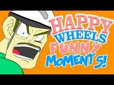 Pewdiepie: Happy Wheels funny moments 2