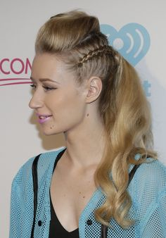 pretty little girl hairstyles : Ultimate Pool Party, Iggy combined our favorite Summer hairstyle ...