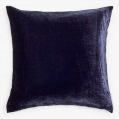 Aviva Stanoff Velvet Pillow Indigo
