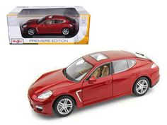 2011 Porsche Panamera Turbo Dark 1:18 Diecast Model Car by Maisto