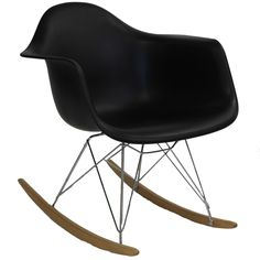 Add some pizazz to your to your room with the iconic Rocker lounge chair. Popular for decades in nurseries and other eclectic spaces, Rocker is an ambitious piece richly filled with symbolism.The orig