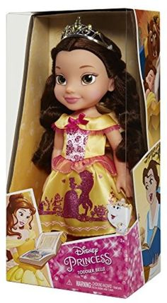 Disney Belle Toddler Princess Doll My First New Beauty Beast Hot For 2016 Kids… Disney Princess Toddler Dolls, My First Disney Princess, Disney Barbie Dolls, Princess Toys, Disney Belle, Disney Animator Doll, Barbie Toys, Disney Toys, 7 Year Old Christmas Gifts