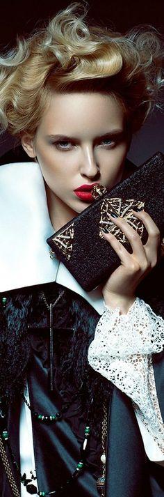 ~Karolina Smetek by Yulia Gorbachenko for Muse   The House of Beccaria#