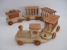 diy wooden handmade circus train - Google Search