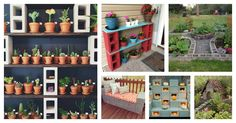 Here we have collected some Cool Ways to Use Cinder Blocks to get your inspiration. You can have a project ready to be enjoyed throughout the year.