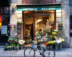 In another life I own a flower shop in Paris..