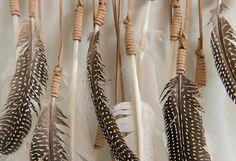 Kristen Leigh Baker's Feather Art -- One Kings Lane -- Style Blog