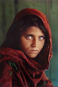 Steve McCurry. Afghan Girl. #photography