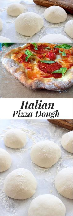 Rustic Italian Pizza Dough Recipe Video, hands down the best homemade pizza dough recipe: thin, crispy & a little chewy. Just like in Italy! Rustic Pizza Dough Recipe, Italian Pizza Dough Recipe, Dough Pizza, Pizza Pizza, Pizza Dough Recipes, Making Pizza Dough, Perfect Pizza Dough Recipe, Healthy Pizza Dough, Best Bread Machine Pizza Dough Recipe