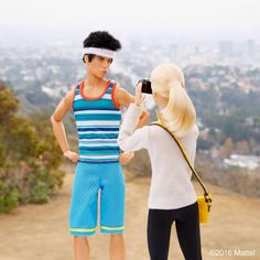 From Barbie Style on Instagraml, a Derek Zoolander doll. Here's the photo…