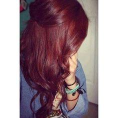cabello rojo oscuro cobrizo volcanico , Buscar con Google