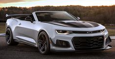 Chevy Camaro ZL1 1LE Convertible Rendering Makes Us Long For A Hardcore Hairdryer #Chevrolet #Chevrolet_Camaro