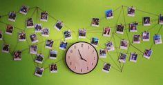 Pavučina, výzdoba, fotografie, photo, friend, web, clock, wood