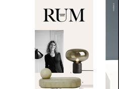 New Works in the Danish Magazine RUM  April -15