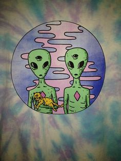 My squad pull up to the party in a UFO like wut¿ #alien #squad #trippy