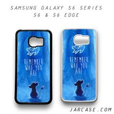 remember who you are lion king Phone case for samsung galaxy S6 & S6 EDGE