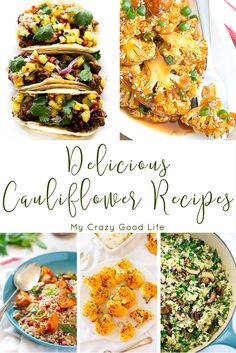 Not being a fan of cauliflower has encouraged me to find a few easy cauliflower recipes to have in my menu! Here are 20 Delicious Cauliflower Recipes.  via @bludlum