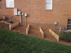 Terraced vegetable garden beds raised img 5250 jpg diy design fanatic bed how to build a on slope ideas Sloped Backyard Landscaping, Sloped Yard, Landscaping Ideas, Steep Hillside Landscaping, Landscaping Retaining Walls, Backyard Ideas, Hillside Garden, Terrace Garden, Sloping Garden