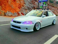 #Honda #Civic #Stance #Slammed #Modified #Camber