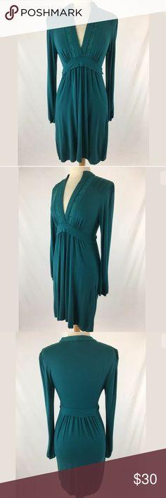 BCBG Max Azria dress SKU: SD15592  Length Shoulder To Hem: 38 Bust: 36 Waist: 28 Fabric Content: 95% Rayon, 5% Spandex BCBGMaxAzria Dresses