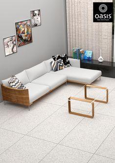 Best Living Room Design, Living Room Designs, Wall Tiles Design, Best Floor Tiles, Tile Manufacturers, Outdoor Furniture, Outdoor Decor, Home Office, Table