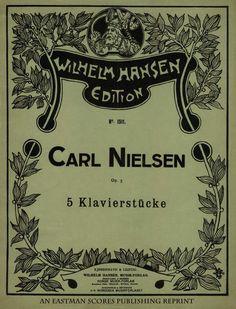 Nielsen, Carl : 5 Klavierstucke : Op. 3