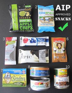 Autoimmune Paleo Convenience Snacks