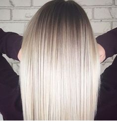 Related posts: white platinum ombre Platinum sandy white Blonde balayage ombré for brown hair types / spring and su… Snow white blonde platinum balayage ombre by … Trendy hair color blonde platinum ombre waves Ice Blonde, Platinum Blonde Ombre, Blonde Ombre Hair, Fall Blonde, White Ombre Hair, Ombre Hair Color, Hair Highlights, Balayage Hair, Bayalage