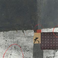 "Boro series 1,  10""x10"" by Donna Watson"