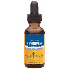 8 oz Feverfew/Tanacetum parthenium Extract   We prepare our Feverfew Extract from the leaf & flower (no stem) of Tanacetum parthenium plants which are Certified Organically Grown on our own farm without the use of chemical fertilizers, pesticides or herbicides.  To assure optimal extraction of Feverfew's bioactive compounds, the plants are handharvested only while in full-flower, are carefully shade-dried to retain their full color & aroma, and are then thoroughly extracted.
