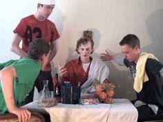 Caravaggio Supper at Emmaus Tableau Vivant