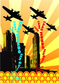 Trabalho da Faculdade Tópicos Especiais em Artes e Design - Banner 2 História da Aviação - 2° Semestre