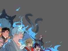 Ao no Exorcist Rin Okumura, Rin And Shiemi, Ao No Exorcist, Blue Exorcist Anime, Fullmetal Alchemist, Manhwa, Otaku, Vocaloid, Anime Guys