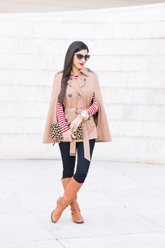 Red Stripes + Leopard