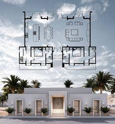 Dream House Exterior, Dream House Plans, Small House Plans, Casa Top, House Construction Plan, Modern Villa Design, Sims House Design, Model House Plan, Home Building Design
