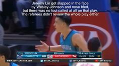 Viral video claims to show Jeremy Lin being fouled #AnthonyDavis...: Viral video claims to show Jeremy… #AnthonyDavis #JeremyLin #MiamiHeat
