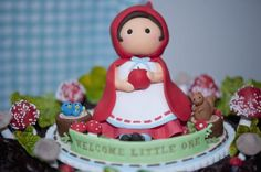 Little Red Riddinghood Cake
