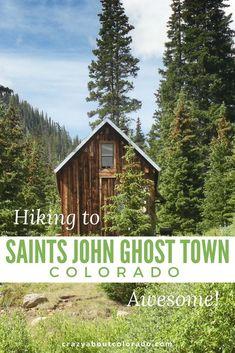 Hike up to Saints John Colorado Ghost Town. Hikes in Colorado. Montezuma CO. Colorado Springs, Colorado Hiking, Frisco Colorado, Boulder Colorado, Rocky Mountains, Colorado Mountains, Camping Places, Camping World, Tent Camping