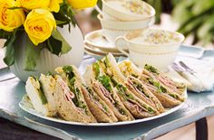 Coronation-style chicken sandwiches recipe - goodtoknow