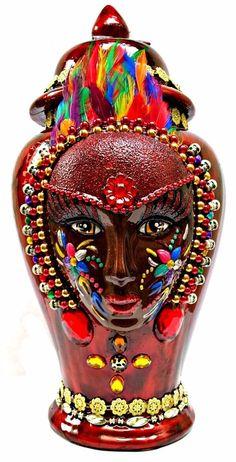 Sopera-Potiche-Tibon-Tibor-Oya-G-10-Oia-Religion-Yoruba-Santeria-Yemaya-Obatala | Everything Else, Religious Products & Supplies, Other Religious Supplies | eBay!