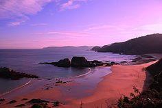 Playa de San Roman, Galicia, Lugo