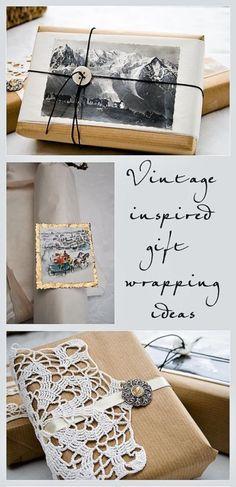 Vintage Style Christmas Gift Wrap | eBay