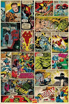 Marvel Comics - Comic Panels