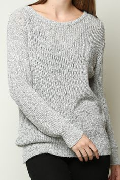 LEIA SWEATER from Brandy Melville. Looks so cozy to wear to school on cold days